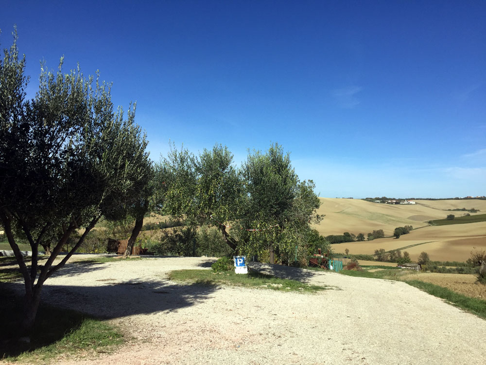 La Casetta a Tavullia Bed & Breakfast: panorami e vedute